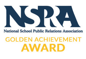 Winner NSPRA Golden Achievement Award